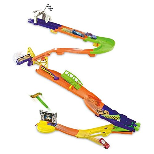 Hot Wheels Wall Tracks Downhill Dash Track by Hot Wheels