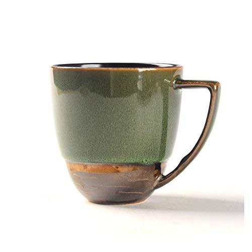 WMYATING Taza de café Copa de cerámica Creativa de café Taza de café Grande Taza de té para té, café, Taza de Desayuno de Chocolate Caliente