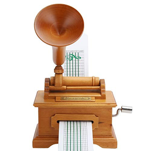 LIUTT Carillon - Carillon per grammofono Carillon Vintage a manovella a manovella Regali di Natale...