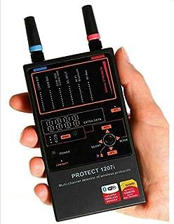 $3042 » GPS Detection Instrument Anti Spy Detector Multi-Channel Camera Lens Audio Error Finder GPS Signal RF Tracker Scanner for ...