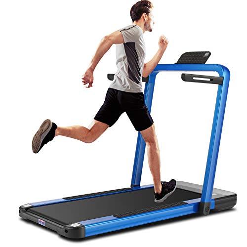ANCHEER 2 in 1 Folding Treadmill