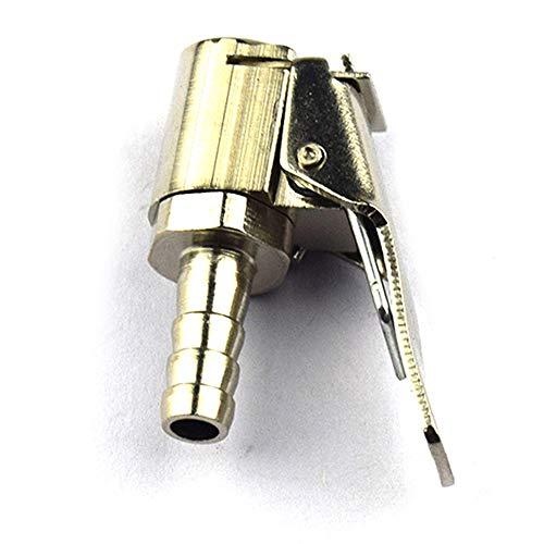 Mabor Adaptador de la bomba de aire del coche de rosca de latón de la boquilla de las herramientas generales automáticas de conversión rápida práctica de plata de conversión rápida