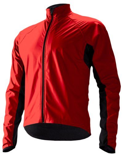 Cannondale Men's Sirocco Wind Jacket, Emperor Red, X-Large