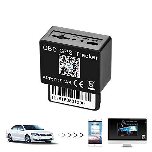 Hangang muxan localizador GPS para Coche Auto Moto en Tiempo Real Seguimiento y localizador GPS Impermeable OBD gsm/GPRS/SMS...
