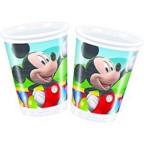 Amscan 180 ML Mickey Mouse 10-Plastic Tasses