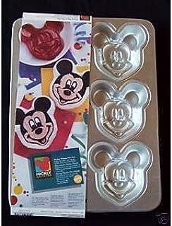 Wilton Mickey Mouse Mini Cake Pan (2105-3600, 1995)