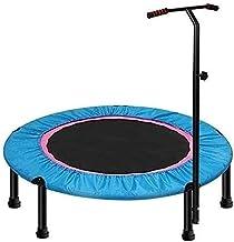 Outdoor Kids Trampoline 40 inch voor kinderen of volwassenen Small Springen Fitness Trampoline met verstelbare T-bar Stabi...