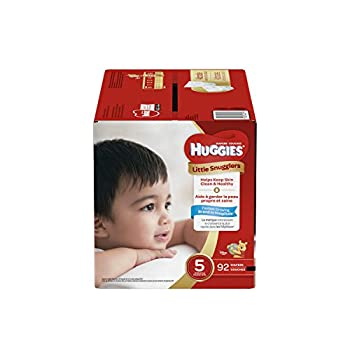 Huggies Little Snugglers Baby Diapers Size 5 92 Count GIANT PACK  Packaging May Vary