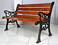 A quality product from FurniFuture India | Beware of poor quality products sold by others Heavy duty cast iron leg support painted with quality thick pain 4mm thick Seating Slats are of high strength FRP (Fibre Reinforced Plastic) which is 4 times st...