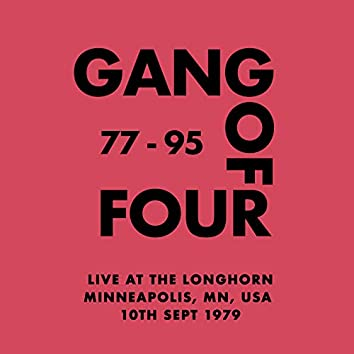 Live at The Long Horn, Minneapolis, MN, USA - 10th Sept 1979