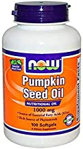 NOW Supplements, Pumpkin Seed Oil 1000 mg with Essential Fatty Acids and Phytosterols,..