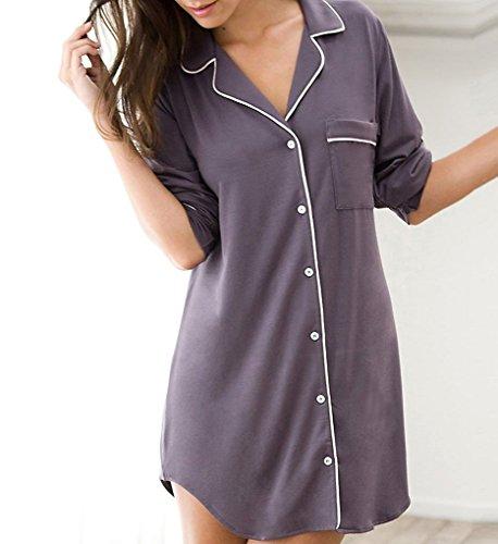 Eberjey Gisele Sleep Shirt (H1018)