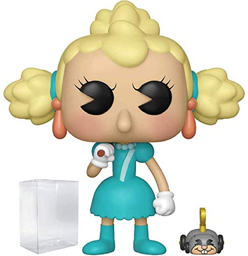 Funko Pop & Buddy Games: Cuphead - Sally Stageplay & Wind Up Mouse Vinyl Figure (Includes Pop Box...
