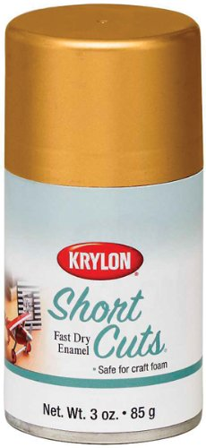 Krylon Short Cuts Spray Paint, Gold Leaf