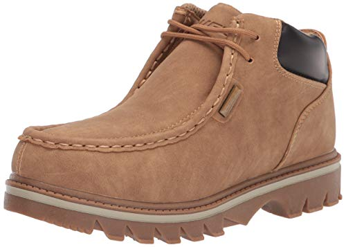 Lugz Men's Fringe Chukka Boot, autumn wheat/Bark/Cream/Gum, 10.5 D US