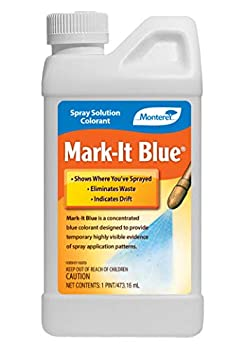 Monterey LG1142 Spray Solution Colorant Mark-It Blue Dye 16 oz White