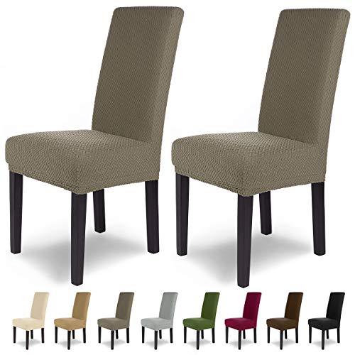 SCHEFFLER-Home Luna 2 Fundas de sillas, Estirable Cubiertas