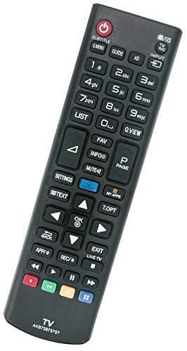 ALLIMITY AKB73975757 Control Remoto reemplazado por LG LED LCD TV 32LB570V 32LB580V 39LB570V 39LB580V 42LB570V 49UB830V 55UB820V 55UB830V 42LB570 47LB570 47LB580 50LB570 50LB580 55LB570 55LB580
