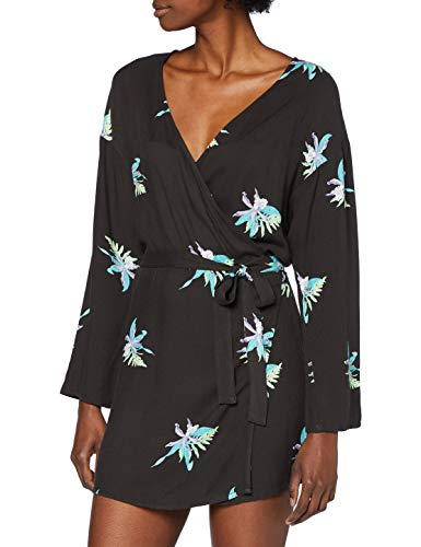 W Tama Wrap Dress LS
