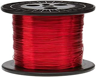 3.66 mm x 7.32 mm Color: Brown 0.144x0.288 MSS Flat Magnet Wire Copper Wire High Temperature