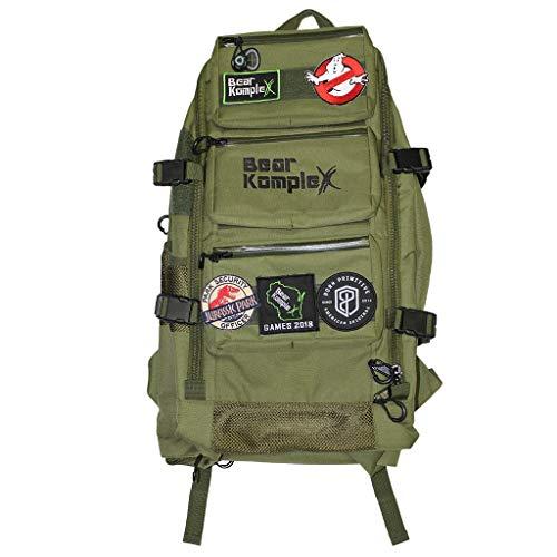 Bear KompleX Bär abwehrsteigerung komplex Military 3 Tag Tactical Rucksack für Wandern, Jagd, Fitness, Camping, und Outdoor. 1000D Nylon Rucksack (Green)