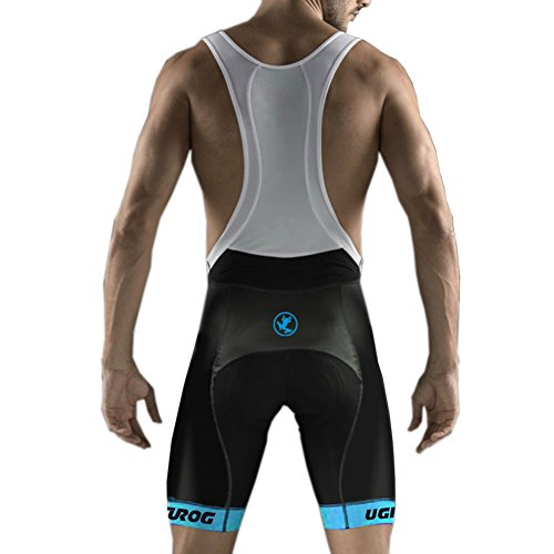 Uglyfrog Bike Wear - Pantalón Corto para Hombre Bib Shorts with Gel Pad HBS09