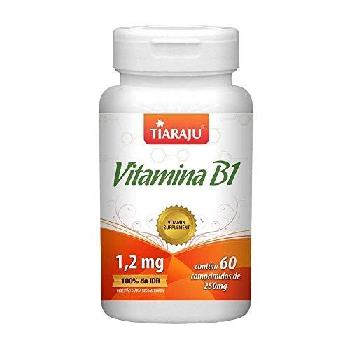 Vitamina B1 Tiaraju 60 Comprimidos De 250mg