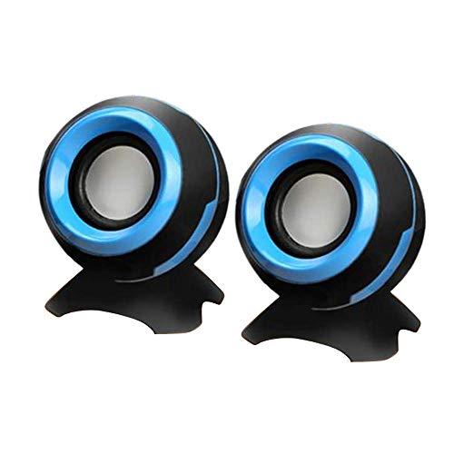 USB Verdrahtete Computer Lautsprecher Mini Tragbare Gaming Lautsprecher für PC...