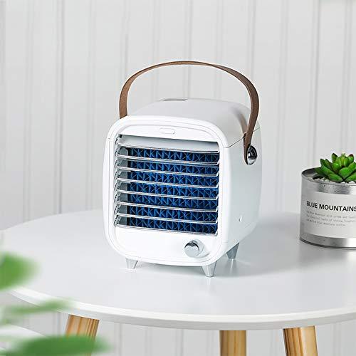 Aire acondicionado portátil HAYOSNFO, enfriador de aire de espacio personal, ventilador de velocidad constante para el hogar, oficina, dormitorio