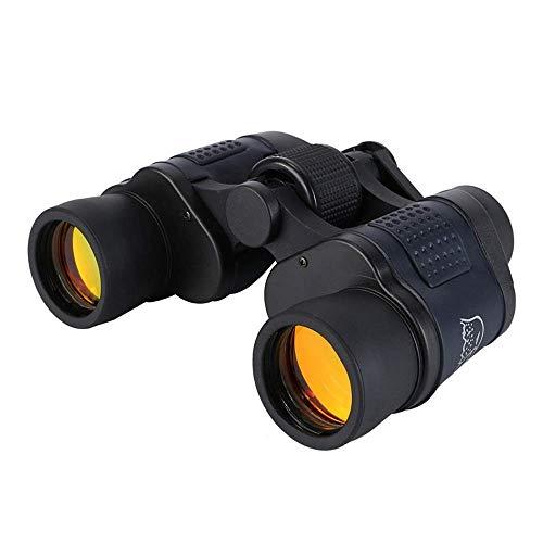 Binocular 60x60 con coordenadas binoculares de visión Nocturna telescopio de película roja de Alta definición y Alta Potencia multifunción
