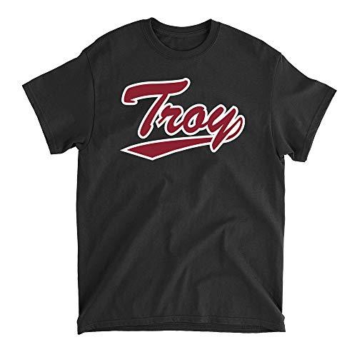 Official NCAA Troy University Trojans PPTROY02, G.A.5000, BLK, 4XL