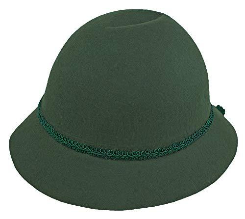 Isar-Trachten Hut für Kinder - Grün Gr. 55