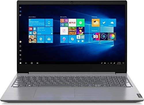 Lenovo (15,6 Zoll HD+ matt) Laptop (Intel Core i5-1035G1 QuadCore, 8GB RAM, 256GB M.2 SSD, Intel UHD Grafik, WLAN, Bluetooth, HDMI, USB 3.0, Windows 10 Pro) Grau