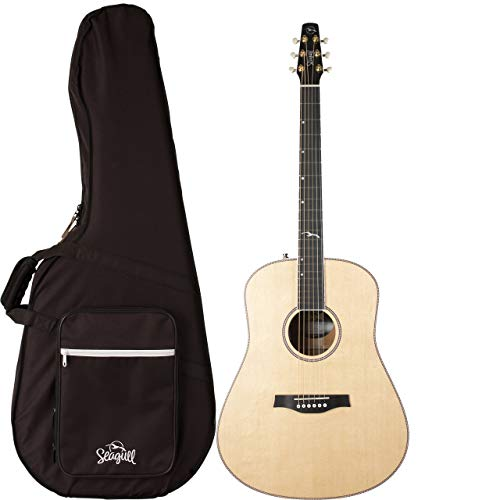 Seagull Artist Mosaic Anthem EQ All Solid Wood Acoustic-Electric Guitar with TRIC Case
