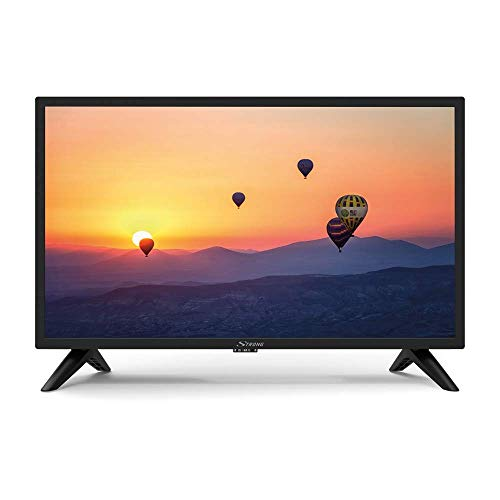 TV LED 24 Pollici, HD Ready (1366x768 pixel), DVB-T2, USB