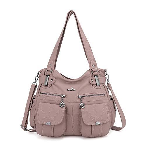 ZOCAI Top Handbags PU Leather Purses Queen Women Handbags
