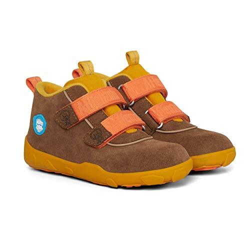 Affenzahn Herbstschuh Löwe, Low Boot wasserdicht, Kinderschuh für Mädchen und Jungen, Größe 21 bis 32,Löwe,27 EU