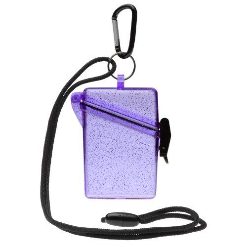 Witz 04009-Purple Glitter Box 3 Waterproof Case Photo #2