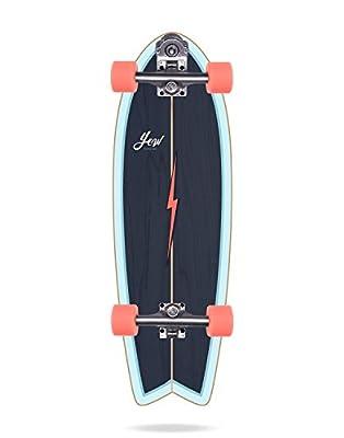 YOW Pfeife Surfskate Unisex Erwachsene, Blau