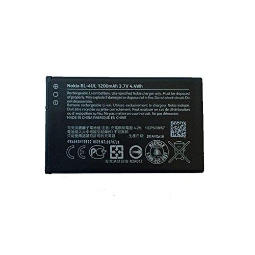 Nokia BT-BAT-BL4UL - Batteria 225,1.200mAh, Colore: Nero