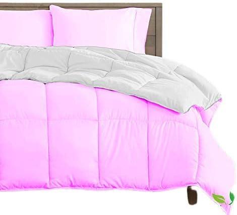 Reversible Comforter - All-Season Luxury Cotton 2021 autumn and winter Max 67% OFF new 100% T Organic
