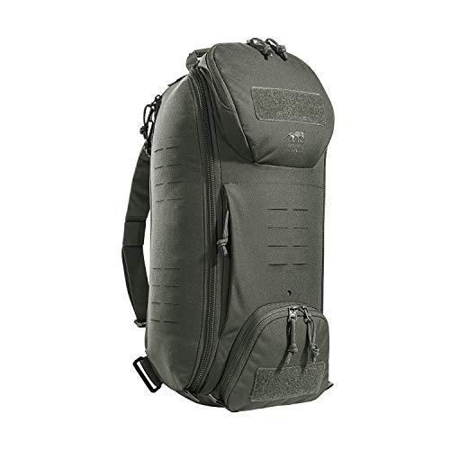 Tasmanian Tiger TT Modular Sling Pack 20 Modularer Daypack Molle-kompatibel Schulter-Rucksack Umhänge-Tasche 20 Liter (Oliv)