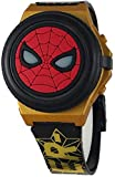 Marvel Boy's Spiderman Light Up Digital Watch with Flip Open Face