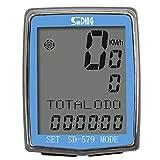 SUNDING SD-579C Compteur de Vitesse sans Fil pour Vélo & VTT- Chronomètre vélo...