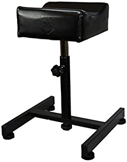InkBed Portable Black Adjustable All Purpose Leg Rest Stand Tattoo Studio Equipment
