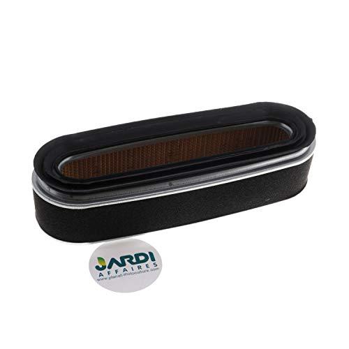 Jardiaffaires Filtre à air 190x63x45mm pour Honda GXV120, GXV140 et GXV160