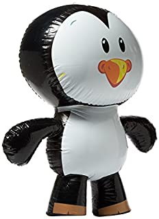 "Rhode Island Novelty Inflatable Penguin Party Accessory, 24"", Black and White (B008D5C6FQ) 