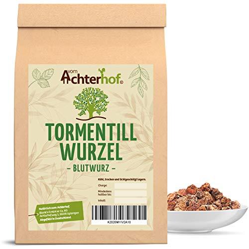 Blutwurz (250g) Tormentillwurzel geschnitten Tormentill - Kräuter Tee vom Achterhof Blutwurzel