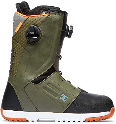 DC Control BOA Snowboard Boots Mens Sz 9 Olive Camo