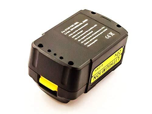 Preisvergleich Produktbild Akku passend für Stanley FMC 688L,  Li-ion,  20V,  4000mAh,  80Wh